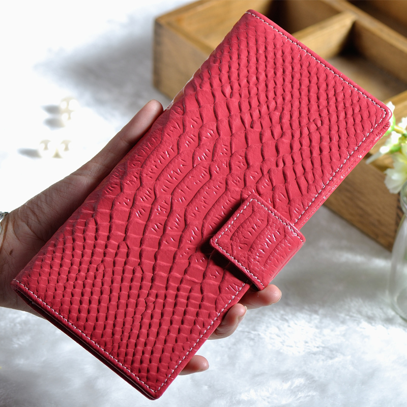 Carteira Masculina Poucht Coin Pocket Purse Long Style Women Wallet Recycle Genuine Leather Real Clutches 8 Color In Stock 1.5(China (Mainland))
