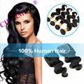 Charming 8A Weft Closure Remy Hair Weave Bundles Brazilian Body Wave With Lace Closure Brazilian Virgin
