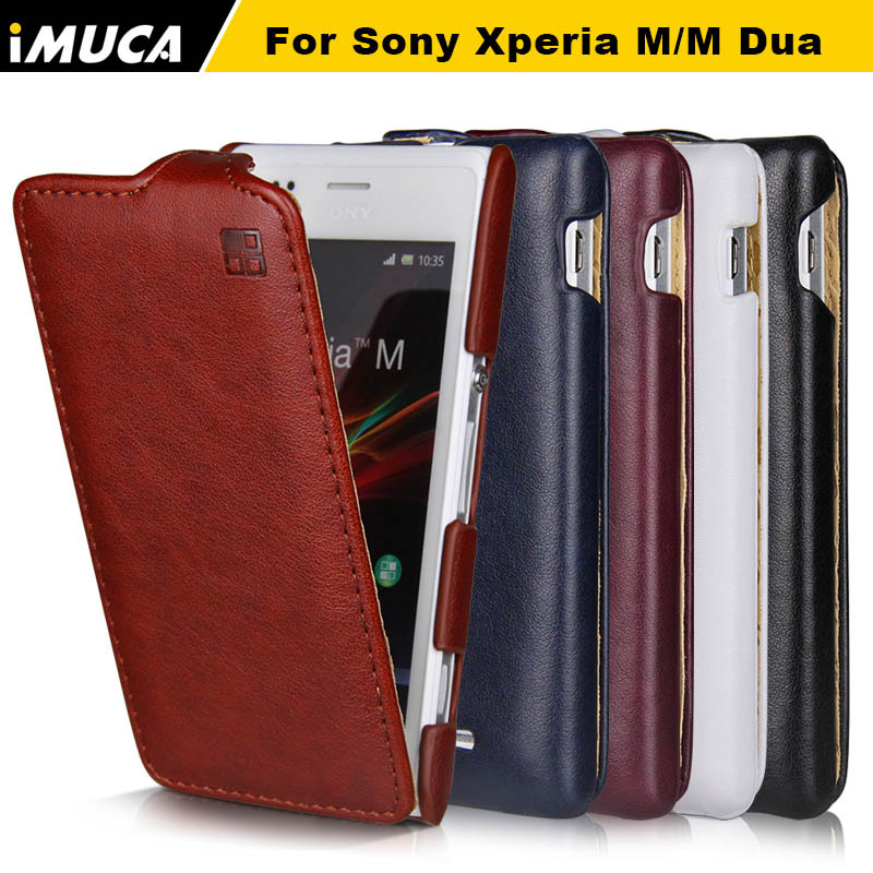 M Case Sony Xperia M Case Luxury Flip Leather Case Cover Sony Xperia M C1905 C1904 Dual C2004 C2005 Smartphone Covers