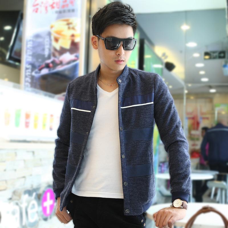 HOT Free shipping South Korean Men's Hoodies Jacket ZipperedNew fashion sweater 3 color Size: M-XXXXL Sports jacket  WK-158E
