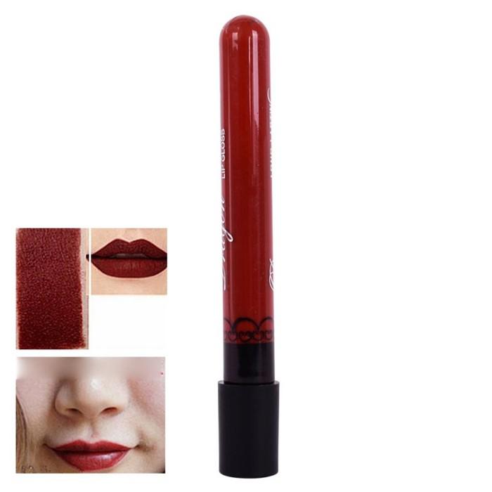 À prova d' água de Longa Duração Batom Líquido Lip Gloss Maquiagem Beleza Matte Lip Tint Pen Lipgloss 28 Cores Maquiagem