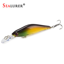 Buy Wobbler Minnow Fishing Lure Brand 1pcs/lot 6G/8CM Plastic Floating Pesca Carp Hard Bait Crankbait Fish Tackle M62 for $1.06 in AliExpress store