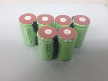 free shipping 10pcs lot 10C discharge rate 2000mAh SubC SC NiCD rechargeable cell with solder tags