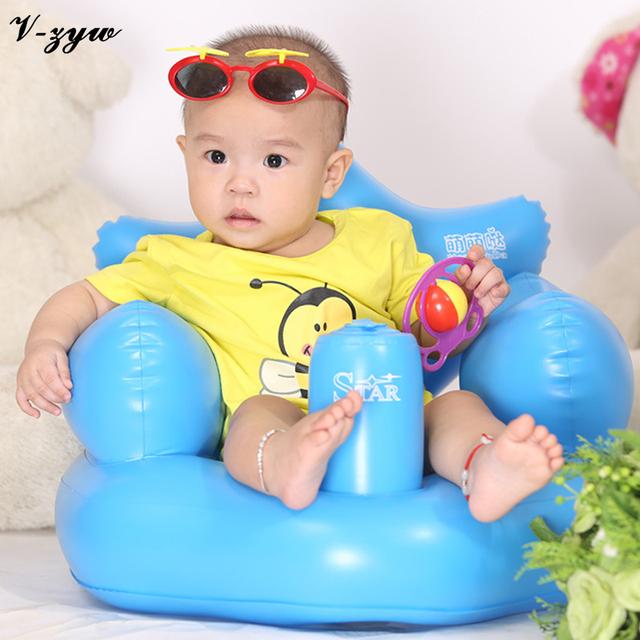 Ванна сиденья стул младенца надувной диван пвх коляска детский стульчик портативный ...