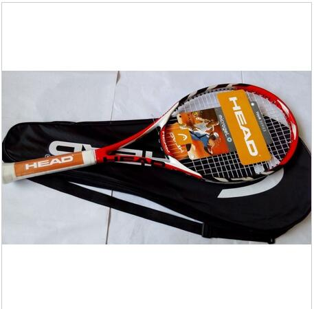 100% carbono Youtek IG Radical MP Speed Pro Head L4 raqueta Novak Djokovic Tennis racket Grip size: 4 1/4-4 3/8 string 16/19(China (Mainland))