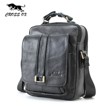 CROSS OX Business Men Genuine Leather Bag Natural Cowskin Men Messenger Bags Vintage Men's Cowhide Shoulder Crossbody Bag SL053M(China (Mainland))