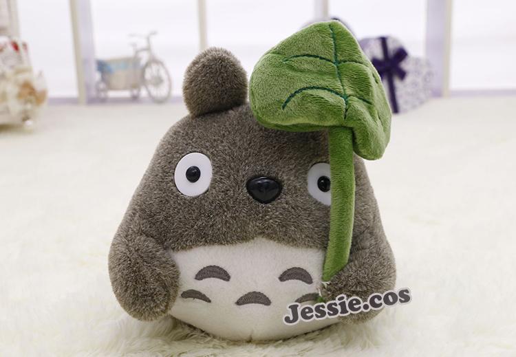 Free shipping Japan Anime Hayao Miyazaki TOTORO Soft & Stuffed Mini Plush Toys Doll Cushion Birthday gift(China (Mainland))