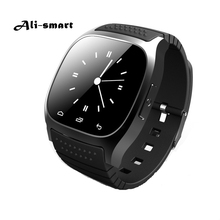 Original Bluetooth Smart Watch M26 clock Barometer Alitmeter Music Pedometer for Android IOS Phone pk u8 u80 dz09 w8 smartwatch