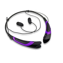 Wireless Sport Headphones Bluetooth 4.1 Earphone Stereo Function Headset with Microphone 300680 Sports Running Headphone Purple