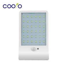 LED Solar Light 450LM 36Led Solar Powered Led Outdoor Light Security Wireless Waterproof With PIR Motion Sensor Light UltraThin