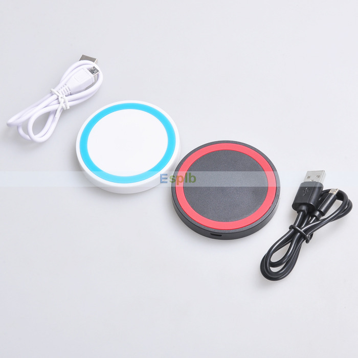 Qi Enabled Portable Q5 Mobile Qi Wireless Charger Charging Pad for Nokia Lumia 920 820 Nexus 4 Nexus 5 7 for Samsung S6/S6 Edge(China (Mainland))