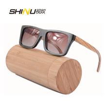 Wood Bamboo Sunglasses Vinatage Men Polarized Wooden Glasses Fashion Brand Designer Sun Oculos De Sol Feminino - First Class store