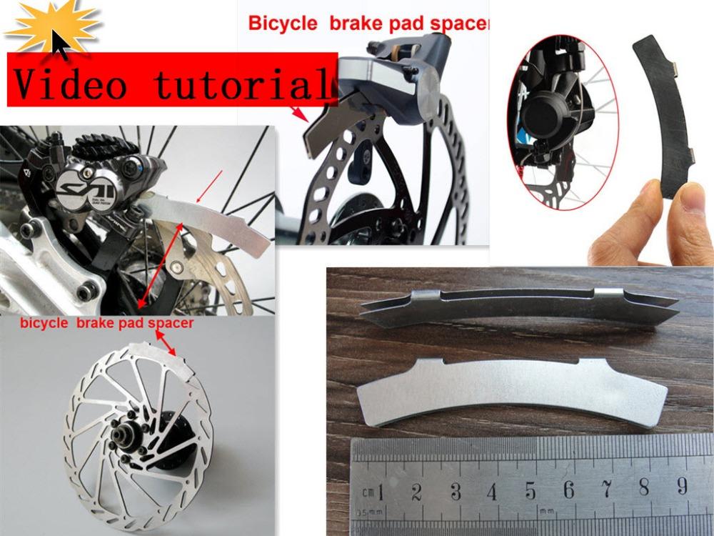 1pc bicycle brake caliper alignment tool kit bike brake pad spacer cycling disk brake system Adjust repair Tool Bicycle Parts(China (Mainland))