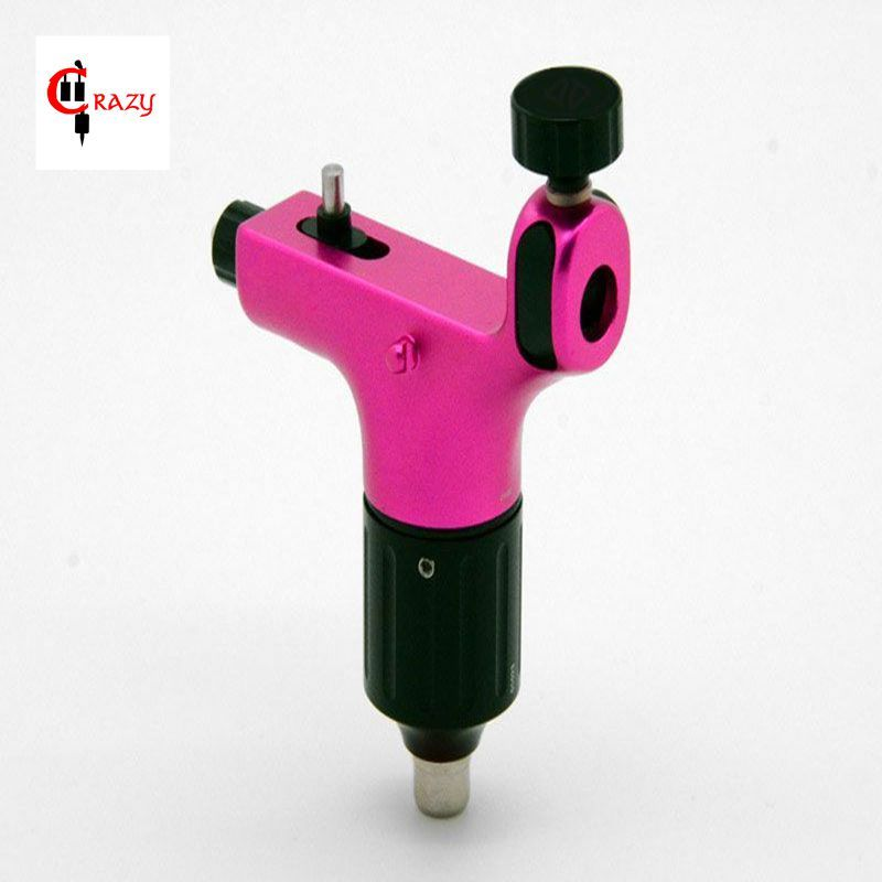 Hot Sales Newest Spectra Halo Rotary Tattoo Machine For Shader and Liner Pink High Quality Tattoo Machine Free Shipping(China (Mainland))