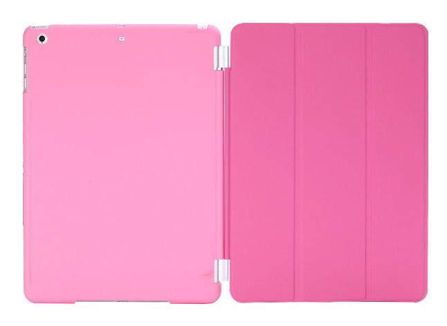 Christmas Gifts Fashion Design Magnetic Smart Cover Matte hard back Case for Apple Ipad Mini 1