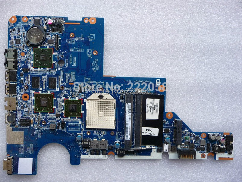 original G42 CQ42 motherboard 616407-001 DA0AX2MB6E0 DDR3 mainboard 100% tested promise quality(China (Mainland))