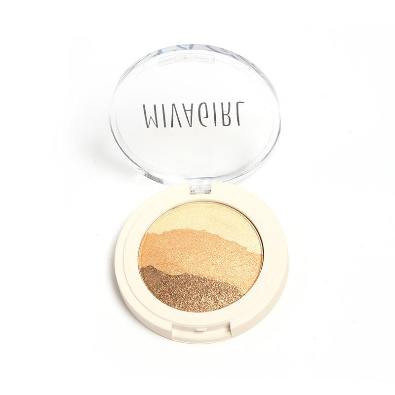 Fashion Eye shadow Palette Shimmer Metallic Miva Girl 8 Colors Baked Eyeshadow Choose 1 - WOVJ Beauty Shop store