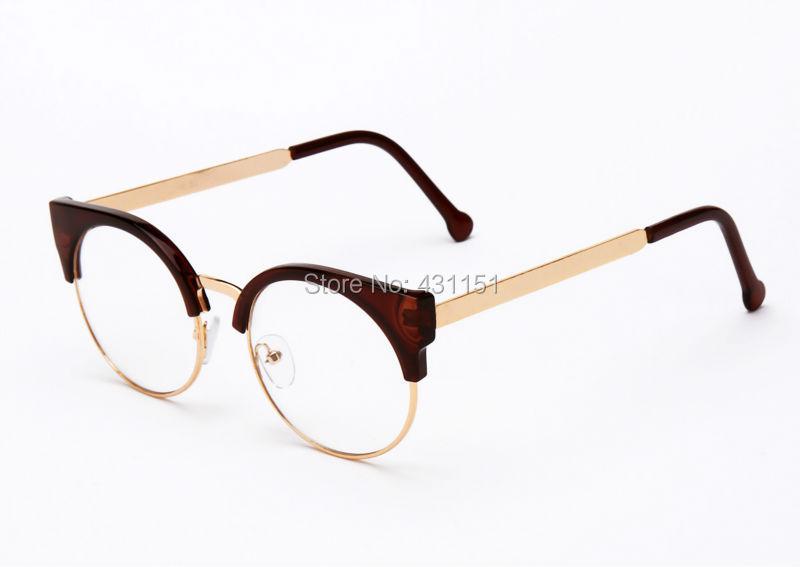 Designer Glasses Half Frame : Aliexpress.com : Buy Fashion Women Brand Designer Cats ...