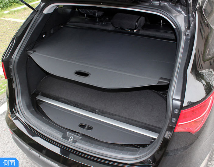 Black Rear Trunk Cargo Cover Security shade shield For Hyundai Tucson ix35 2010 2011 2012  2013 2014<br><br>Aliexpress