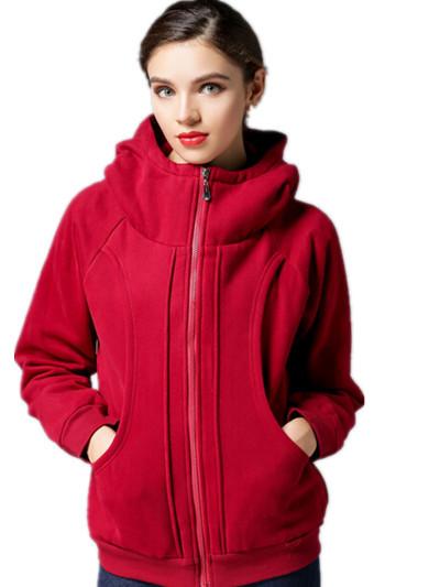 Free Shipping 2015 Korean AutumnWinter Maxi Size fleece padded warm hooded jacket,dark blue/wine red L XL 2XL 3XLОдежда и ак�е��уары<br><br><br>Aliexpress