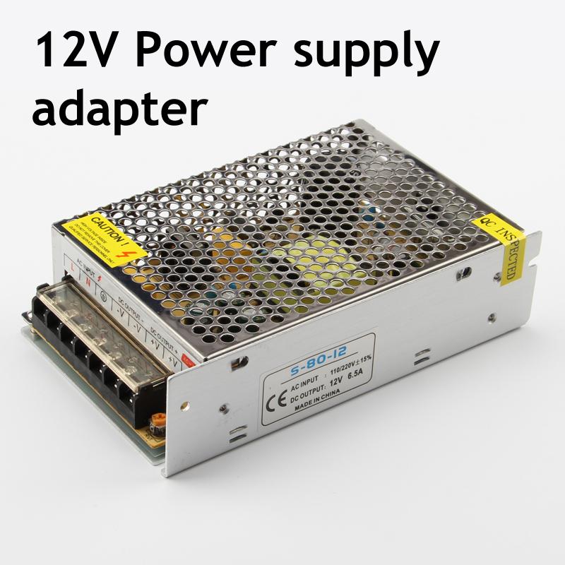 DC12V LED Power Supply Adapter,Transform AC110V 220V to DC 12V,used for LED strip light,free shipping(China (Mainland))