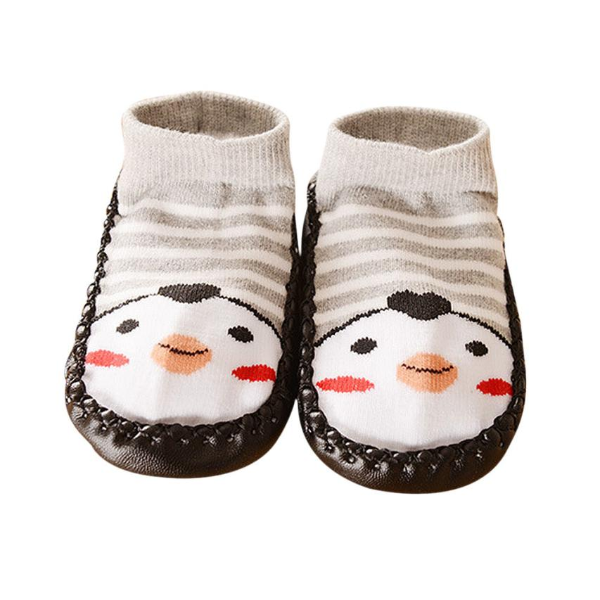 baby socks with rubber soles cute character children socks anti slip cotton baby socks newborn unisex calcetines nice