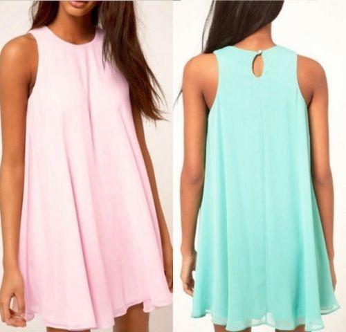 2015-Women-Summer-Dress-O-Neck-Sleeveless-Chiffon-Dresses-for-Ladies-Elegant-Dress-Tunique-Robes-Candy (2)