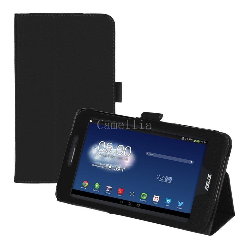 FOR ASUS Fonepad 7 FE 375(CG / CXG) Case ,Slim Fit Folio Leather Case for ASUS Fonepad 7 FE 375CG (With Auto Wake/Sleep Feature)(China (Mainland))