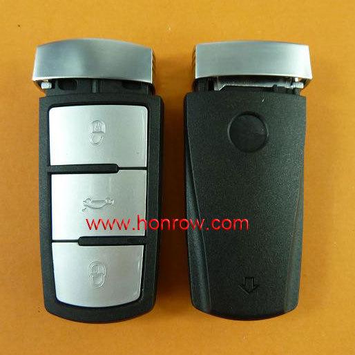 Hot selling VW Magotan 3  button remote key blank, Magotan remote key shell
