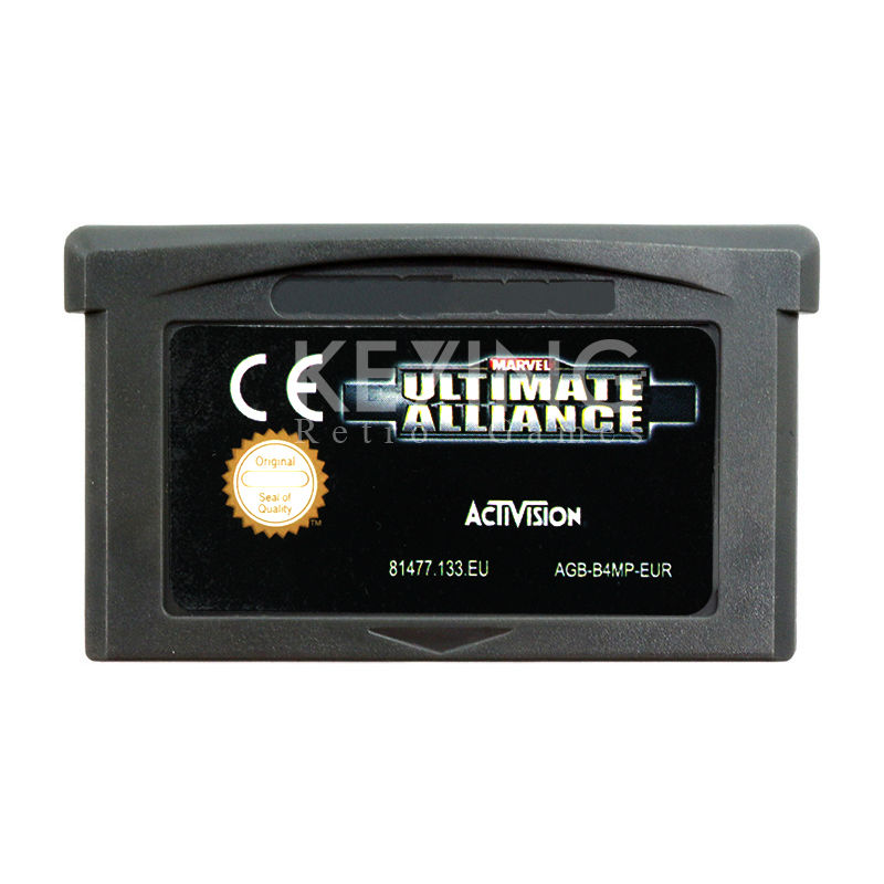 Ultimate Allance Game Cartridge Collection Console Card English Language Euro Version for GB Advance Handheld Game Player(China (Mainland))