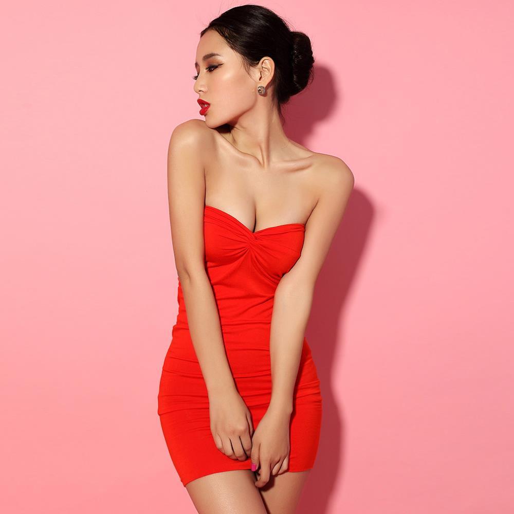 Krazy2013 female tube top formal dress racerback slim sexy slim hip 933 one-piece dress(China (Mainland))