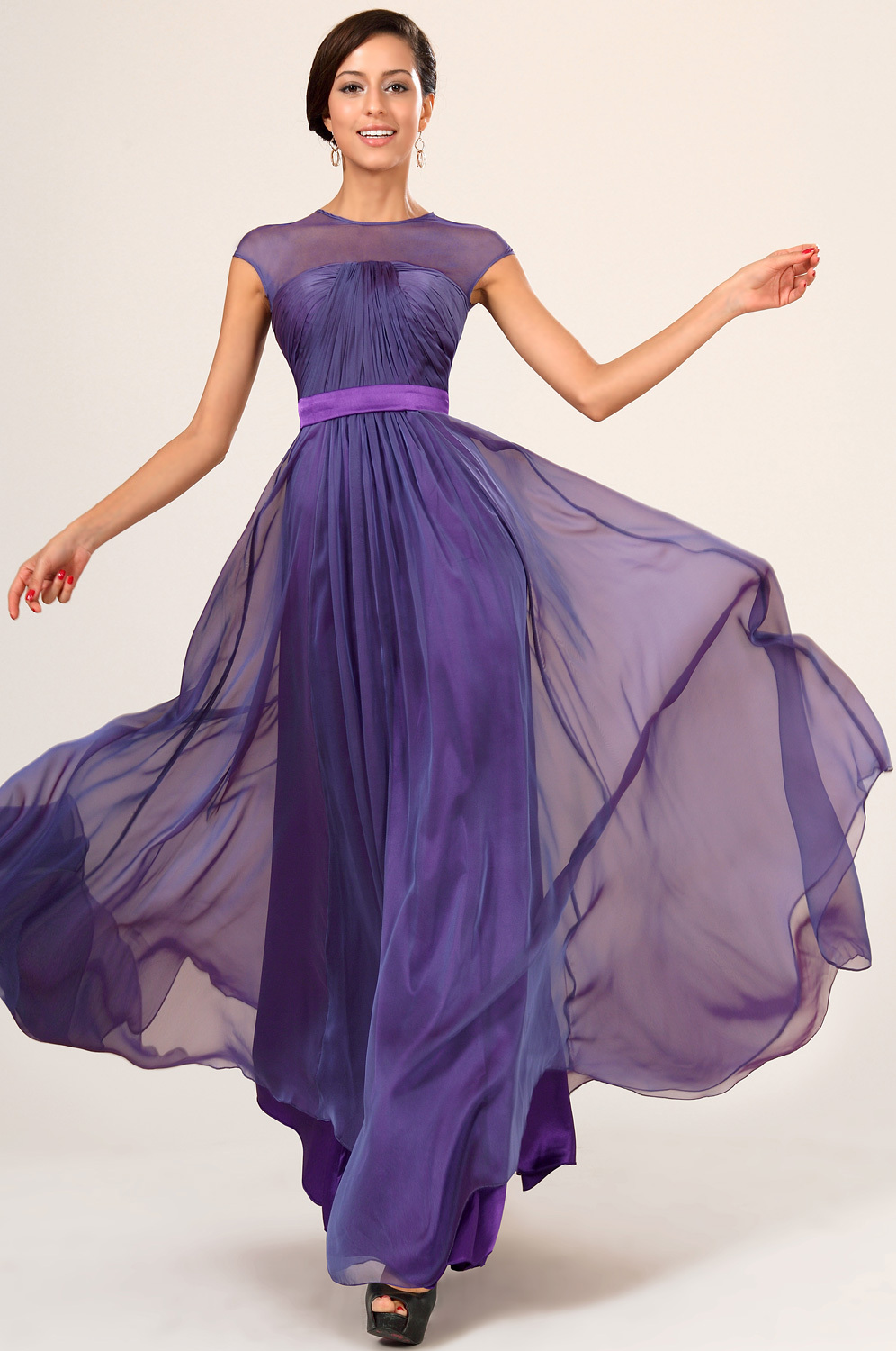 Dark purple dresses bridesmaids image collections braidsmaid dark purple bridesmaid gowns with sleeves fashion dresses dark purple bridesmaid gowns with sleeves ombrellifo image ombrellifo Image collections