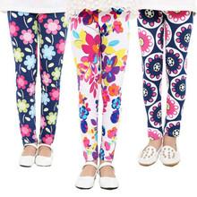 Hot selling 2016 Spring flower girl pants baby girl leggings kids fashion legging children pant girls' leggings