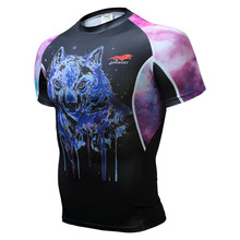 Buy Wisdom leaves New 2016 Mens hot will 2017 bikeing Fitness Base Layer another cycling jerseys brand Body Building Short Sleeve Sh for $13.88 in AliExpress store