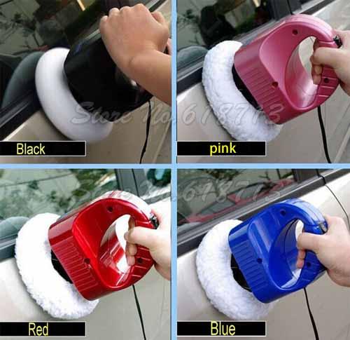 12V portable Car care tool 6 inch Random Orbital car waxer polisher with bonnet(China (Mainland))