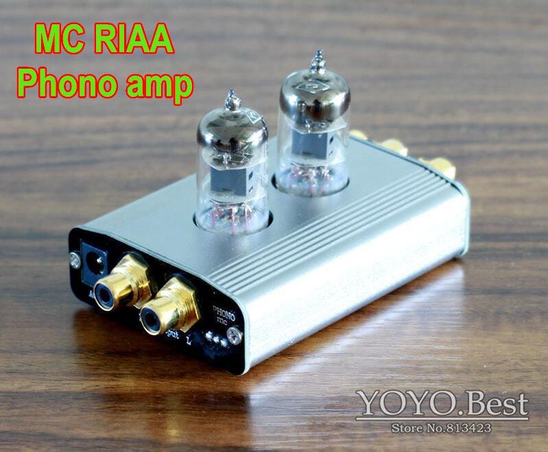 Douk Audio Mini Class A Single-ended 6J1 Tube Phono Pre-Amplifier MC RIAA Record Turntable Free Shipping(China (Mainland))