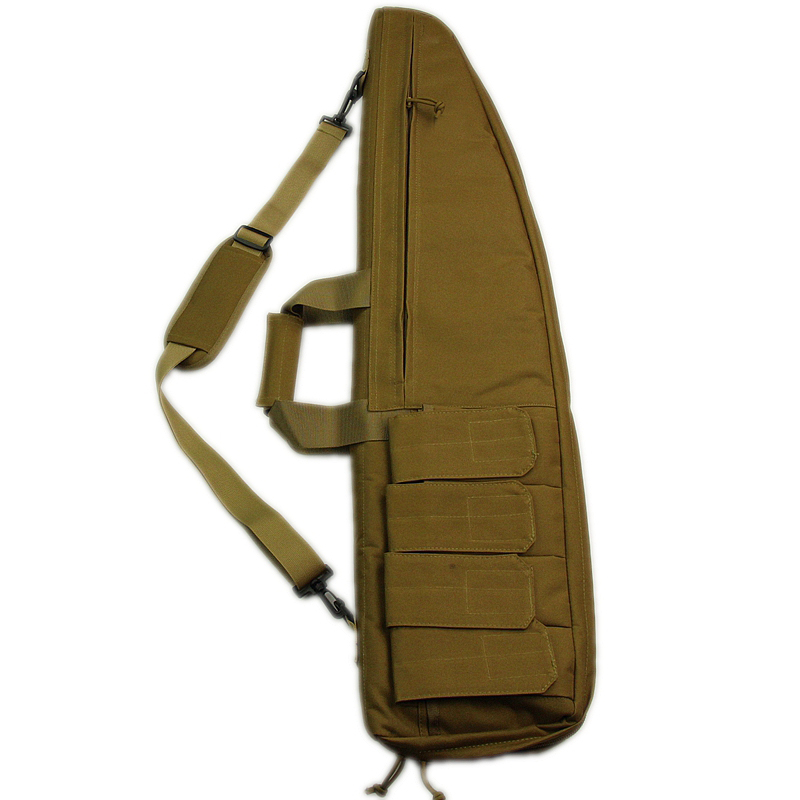 90cm Tactical Soft Gun Bag Black Heavy Duty Tactical Shotgun Rifle Case Shoulder Carbine Bag shooting Gun carry case(China (Mainland))