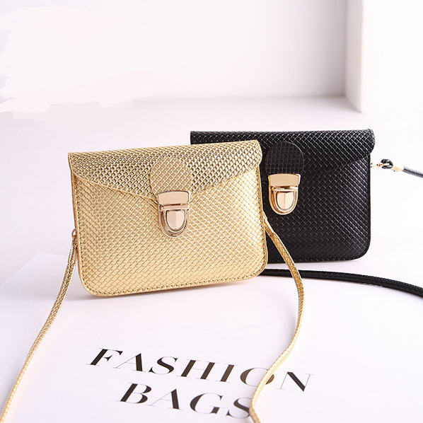 Phone small bag Fashion Diamond Lattice women messenger bags trend mini shoulder bag(China (Mainland))