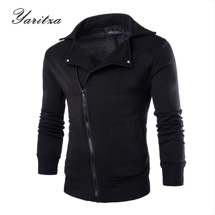 Men Zipper Hoodies Turn-down Collar Men Sweatshirt Cotton Casual Men Hooded moleton masculino assassins creed hoody sweatshirts(China (Mainland))