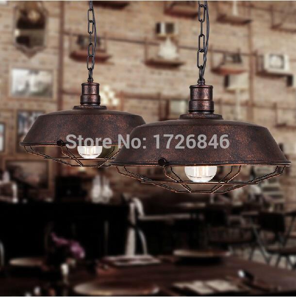 Loft North American Vintage pendant light E27 Edison bulb Dia*36cm dining room home decoration pendant lamp free shipping<br><br>Aliexpress