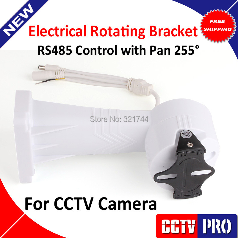 RS485 Auto Rotating PTZ Electrical Rotating Bracket Installation/ Stand/ Holder Rotating 255 degree / Vertical rotate 60 degree(China (Mainland))