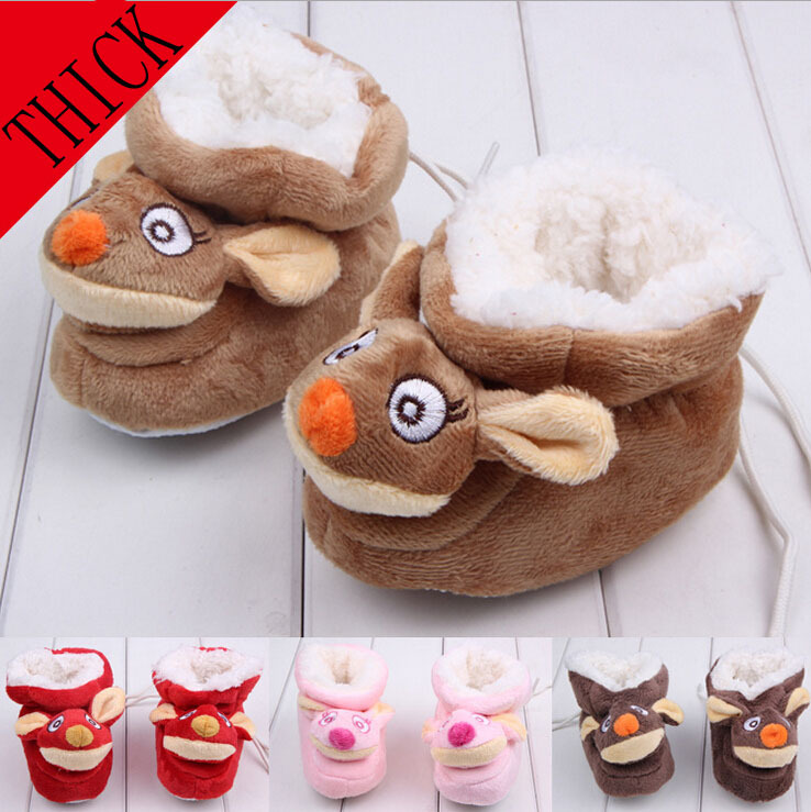 Hot Sale winter infant First Walker Shoes Baby Toddler Shoes Soft Bottom Bow Cotton Baby Shoes 3 Size To Choose(China (Mainland))