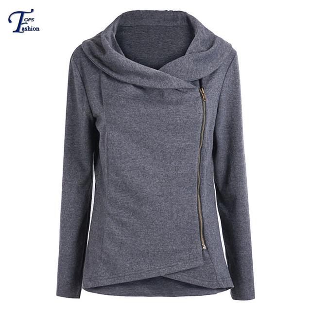 Верхняя одежда пальто женщин зима весна Новый стиль мода черный с длинным рукавом ...