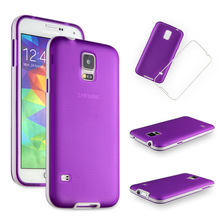 Phone Cases for Samsung Galaxy S5 i9600 2in1 TPU Soft Cover Free shipping mobile phone bags & cases Brand New Arrive 2014