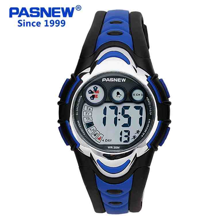 Pasnew children digital watch Sports Waterproof Army saat led kids Chronograph military Wrist watch boys and girls PSE002K(China (Mainland))