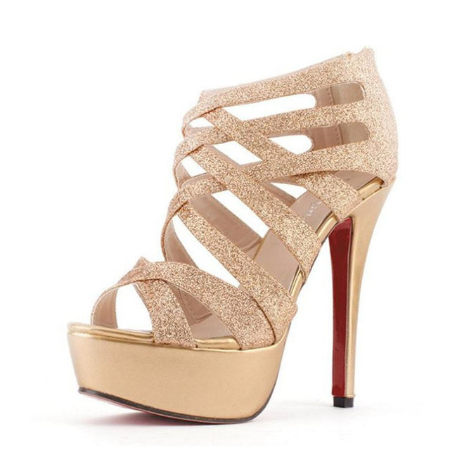 Aliexpress.com : Buy Shoes Woman High heeled Platform Sandals with