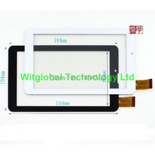 New 7″ oysters T72X 3g / SUPRA M72KG 3G Tablet Touch panel Glass FHF070076 Touch Screen Digitizer Sensor Free shipping