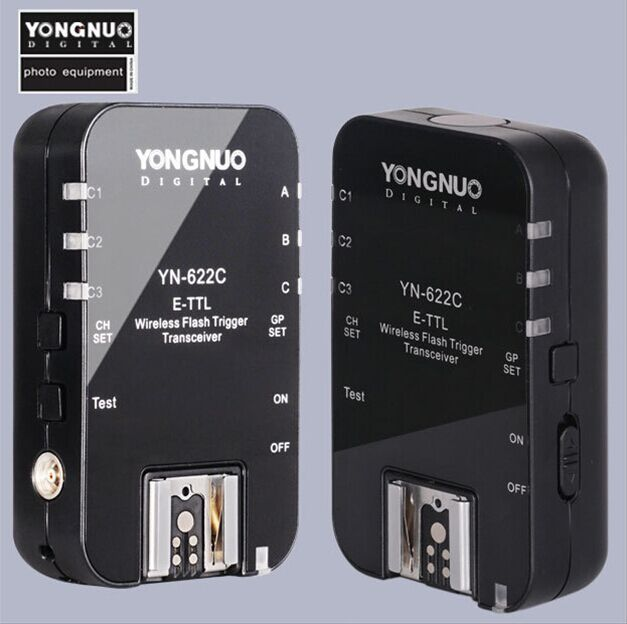 Yongnuo YN622C TX LCD Wireless E TTL Flash Controller for Canon 60D 7D 1DX 5DIII(China (Mainland))