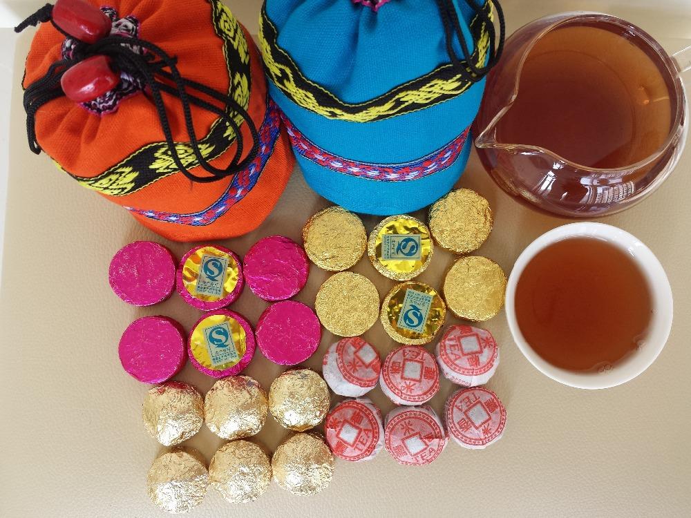 30piece Chinese yunnan pu erh tea ripe tea tea bag gift pu er tea food products