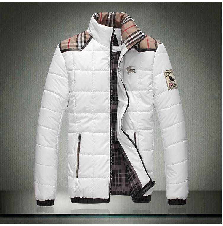Hot sale 2015Autumn winter men warm cotton padded clothes korean men black red jacket coat men